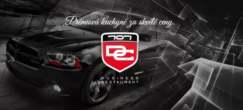 DC707 je restaurace, která vznikla na základě obchodního ducha. Je dokonalým místem určeným ke schůzkám klientů, prezentaci firem, licitacím obchodních smluv a dalším obchodním příležitostem.