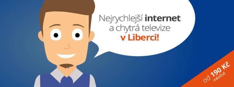 Nejrychlejší internet a chytrá televize v Liberci!