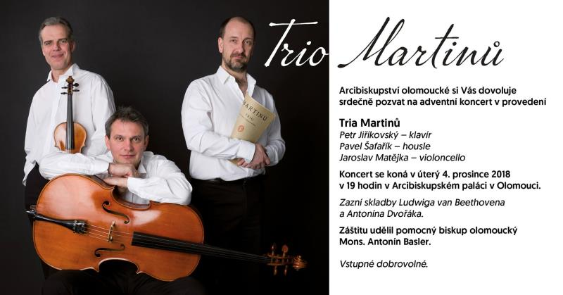 Adventní koncert 4.12. v 19:00