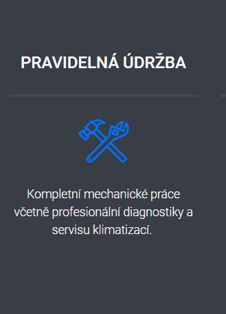 Kompletní mechanické práce včetně profesionální diagnostiky a servisu klimatizací.