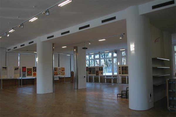U nás můžete výstavy nejen navštívit, ale i realizovat.