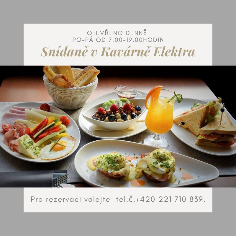 Posnídejte u nás :)