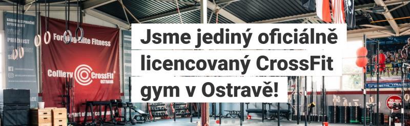 Jsme jediný oficiálně licencovaný CrossFit gym v Ostravě. Přijďte k nám.