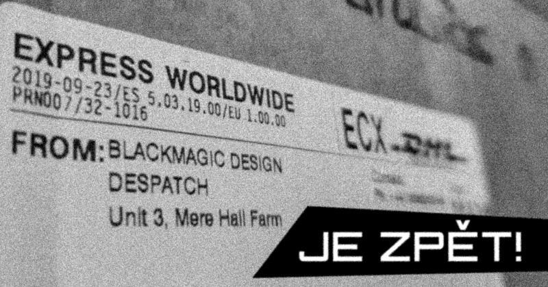 Blackmagic zpět v Ostravě!