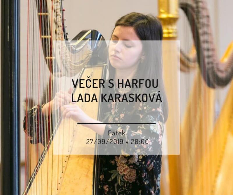 Večer s harfou a netradičním žánrem pro tento nástroj? Uslyšíte studentku Olomoucké konzervatoře