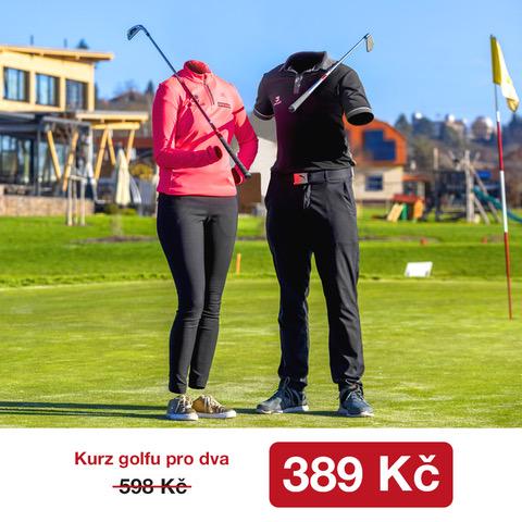 Hraj Golf, Změň Život pro dva za úžasných 389,- Kč