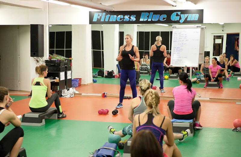 BLUE GYM - fitness, sálové lekce, akreditované vzdělávání, indoor cycling, infrasauna, solárium, workshopy... Přihlaš se ještě dnes!
