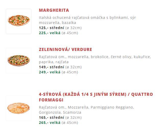 Objednávky na rozvoz pizzy přijímáme již od 9:30 hod, poslední objednávku přijmeme do 23:15 hod.  tel: 608 404 608