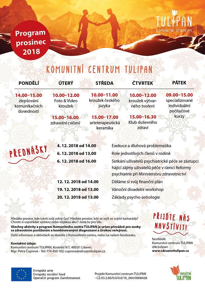 Program prosinec 2018