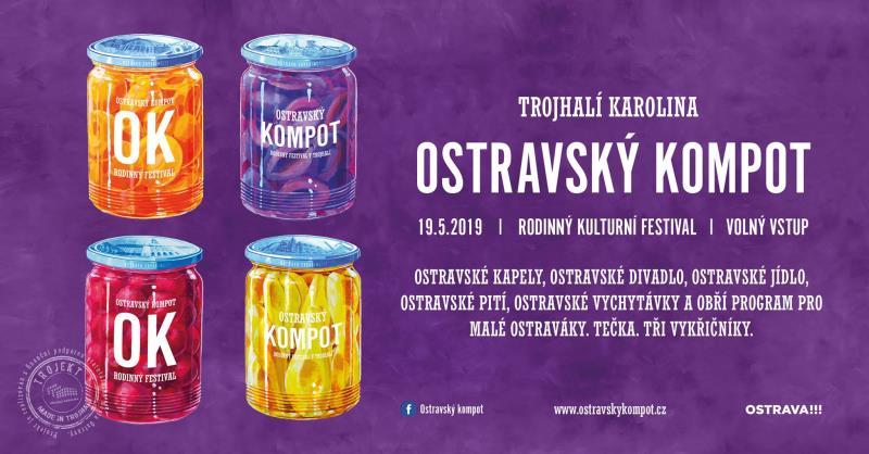 Rodinný festival tvořený výhradně a jen Ostraváky. Kapely, občerstvení, prodejci, divadla a výborný program pro děti.