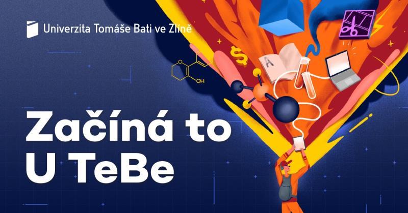 Den otevřených dveří            Ve čtvrtek 6. února otevíráme brány všech fakult Univerzity Tomáše Bati ve Zlíně. Přijď si vybrat svoji budoucnost. Začíná to U TeBe!