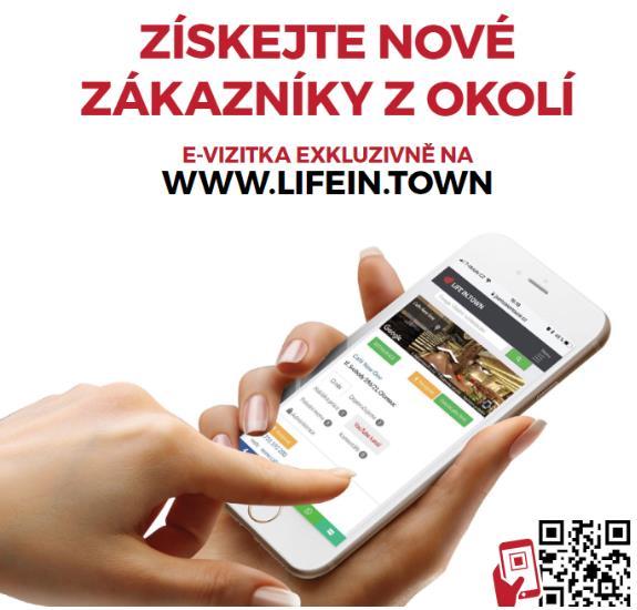 Máte již svou firmu u  nás na webu? Jak ji získat E-vizitku a jak funguje najdete na www.jsemzolomouce.cz/evizitka