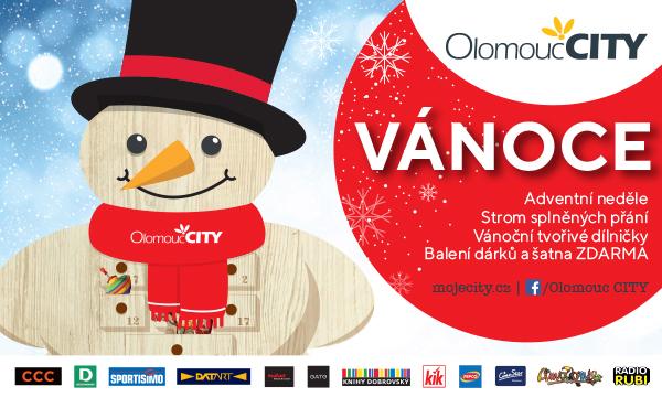 Obchodní centrum Olomouc CITY, pro všechny návštěvníky, připravilo pestrý předvánoční program. Podrobnosti zde: http://bit.ly/Vanoce-v-CITY