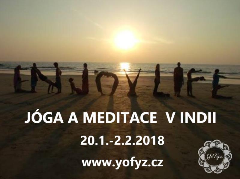 Připojte se k nám na zimní jógový retreat, načerpejte novou energii, poznejte jinou kulturu, zažijte svět z jiného úhlu pohledu.  Info:  608 442 859.