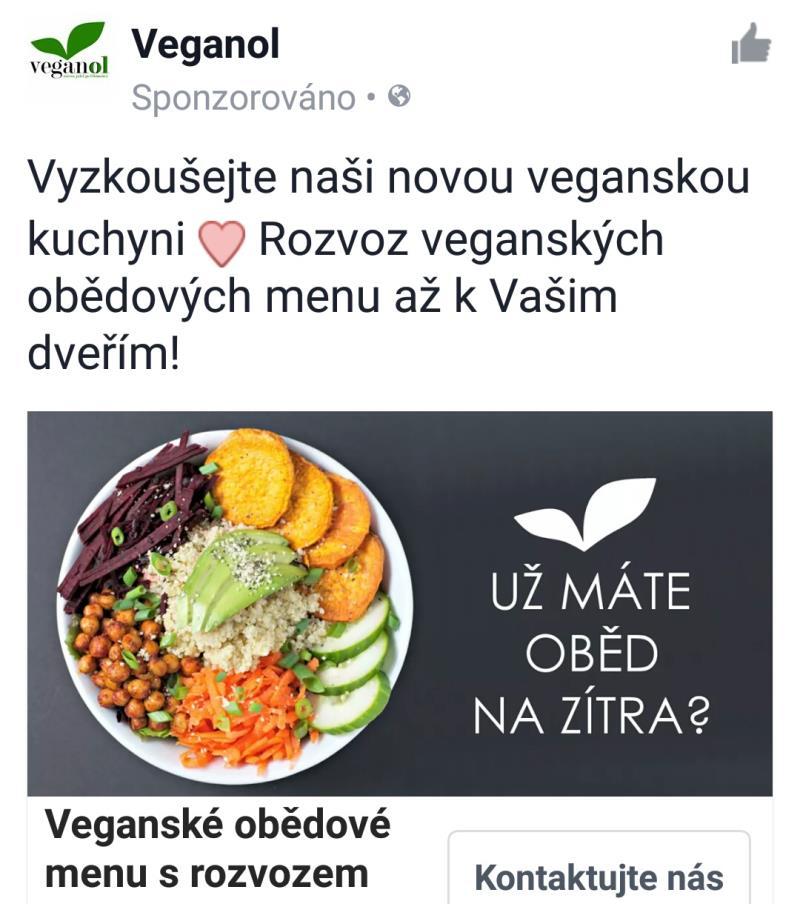 Vyzkoušejte naši novou veganskou kuchyni <3 Rozvoz veganských obědových menu až k Vašim dveřím!