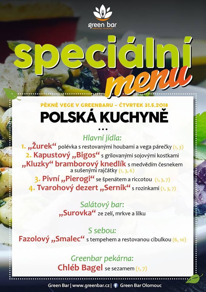 Nepříliš známá ale přitom tak zajímavá. Není to jen vodka a Kopernik! Taje polské kultury si Vám dovolíme představit již tento čtvrtek. Opět skrze gastronomii! Tradiční pokrmy našich sousedů jsou ovlivněné tradicí židovskou, ukrajinskou, ruskou, maďarskou ale i skandinávskou nebo tureckou - kosmopolitní ráz Polska se promítá i do jejich talířů!