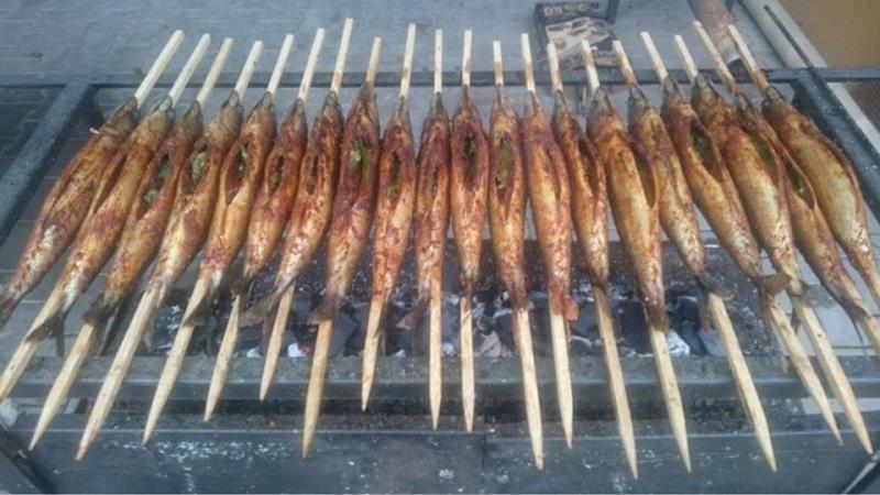 V pátek 7.6.2019 od 17:00 budeme grilovat makrely.  Přijďte ochutnat. :)