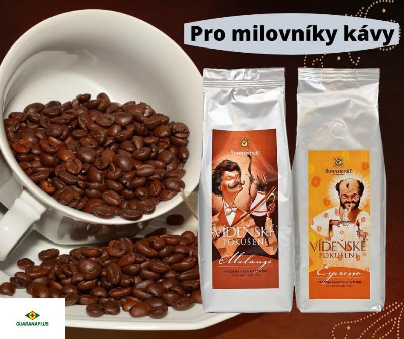 Vídeňské pokušení?  Milovníci kávy si tuto směs oblíbí již při prvním ochutnání! Objednávejte na našem e-shopu