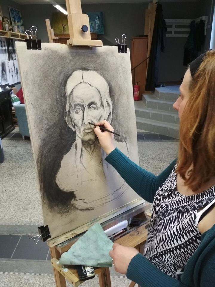 Výtvarný ateliér a kurzy kreslení a malování