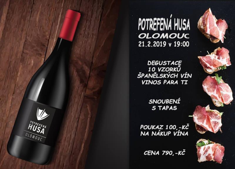 Připravili jsme pro Vás degustaci španělských vín společnosti Vinos Para Ti, kterou Vás provede Christopher Winkler, který hledá malé vinaře ve Španělsku a pomáhá jim s adjustáží lahví, marketingem a prodejem vín. Degustaci doprovodí tapas menu z naší kuchyně, speciálně pro tuto akci sestavené šéfkuchařem Slavomírem Kopečným.
