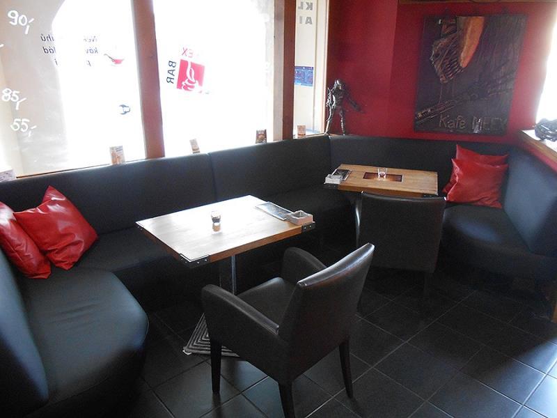 Naše kavárna v centru města je vhodná pro pracovní schůzky. :) Přijďte na kafe.