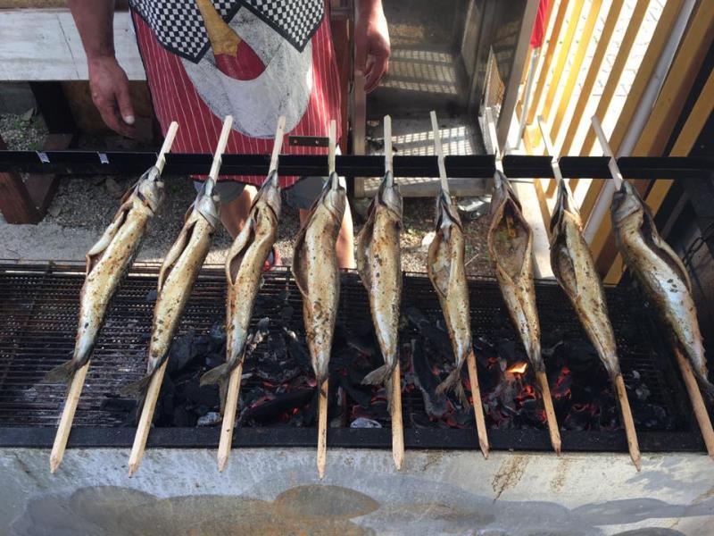 V pátek a v sobotu budeme grilovat makrely.   Přijďte ochutnat. Těšíme se na Vaši návštěvu.