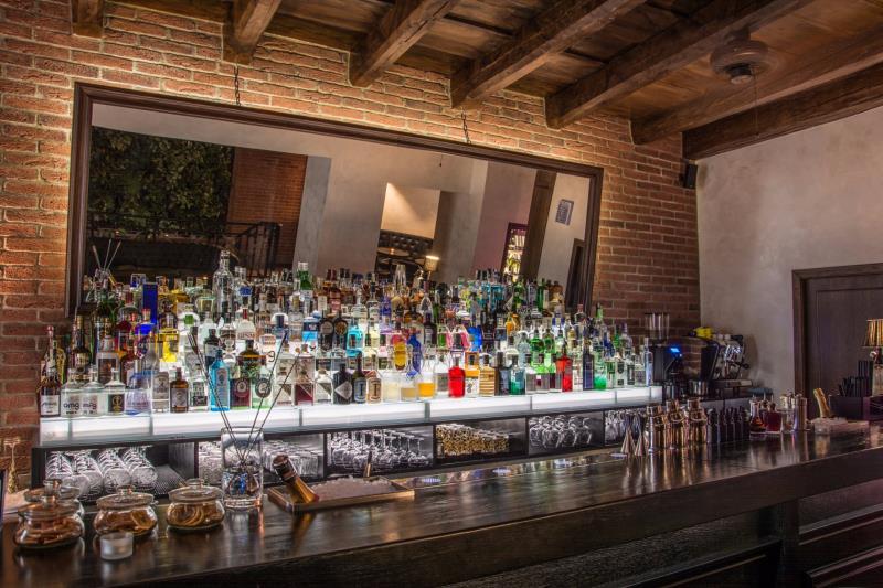 Stylový café & gin bar v centru města Brna