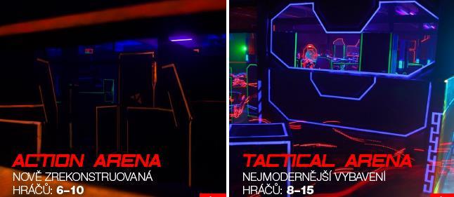 Laser game, nebo také laser tag je akční hra, která kombinuje počítačové hry s hrami typu paintball a airsoft. Jen nebolí, nebarví a hraje se ve speciální laser aréně po celý rok.