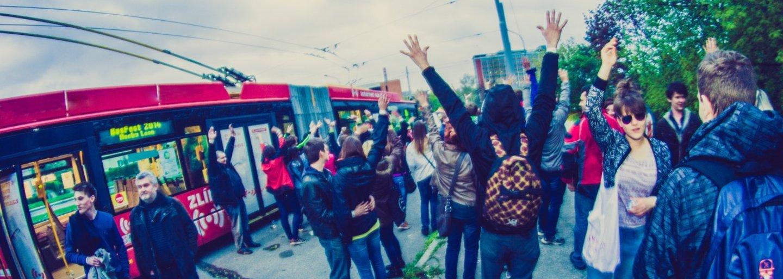 BUSFEST: Ujetý festival v trolejbusech
