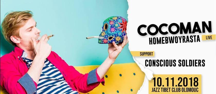 HomeBwoyRasta+Cocoman v Jazzu!