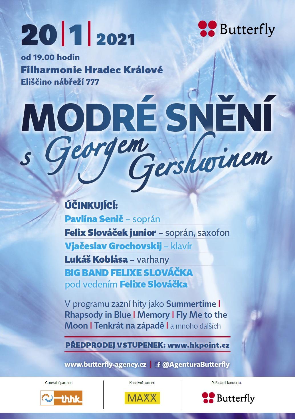 MODRÉ SNĚNÍ S GEORGEM GERSHWINEM