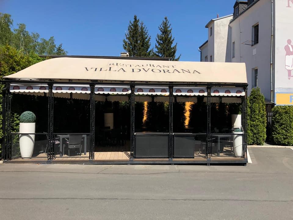 Restaurant Villa Dvorana