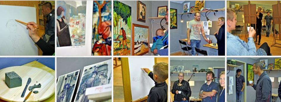 Kreslení a malování  - ateliér VK
