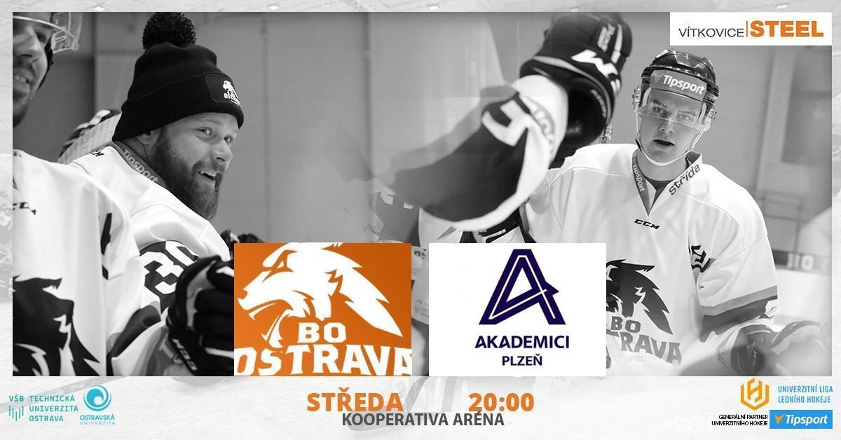 BO Ostrava Vítkovice Steel vs Akademici Plzeň | 9. kolo ULLH