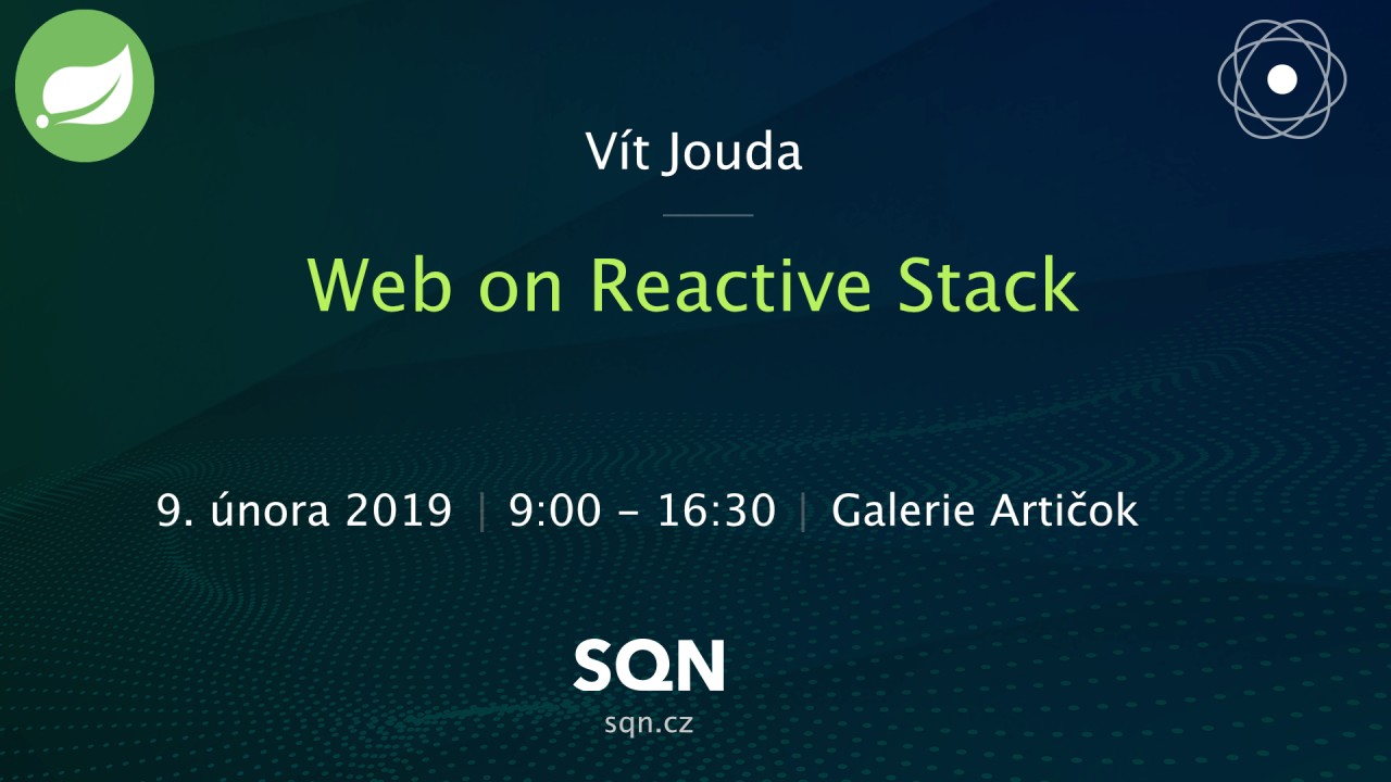 Web on Reactive Stack