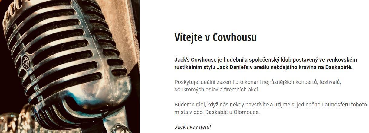 Jack's Cowhouse (klub v Daskabátě u Olomouce)