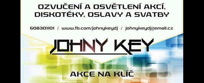 DJ a Moderátor - Johny Key