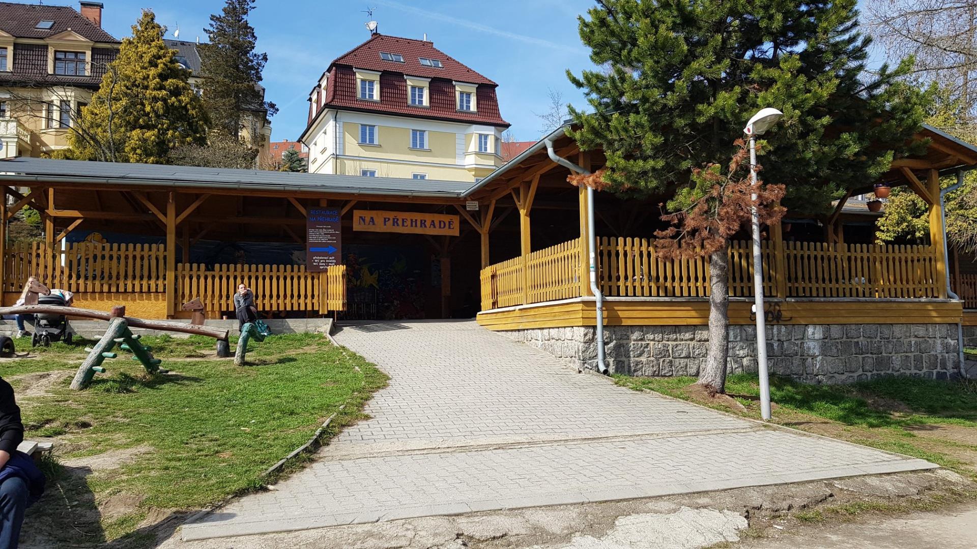 Restaurace na Liberecké přehradě