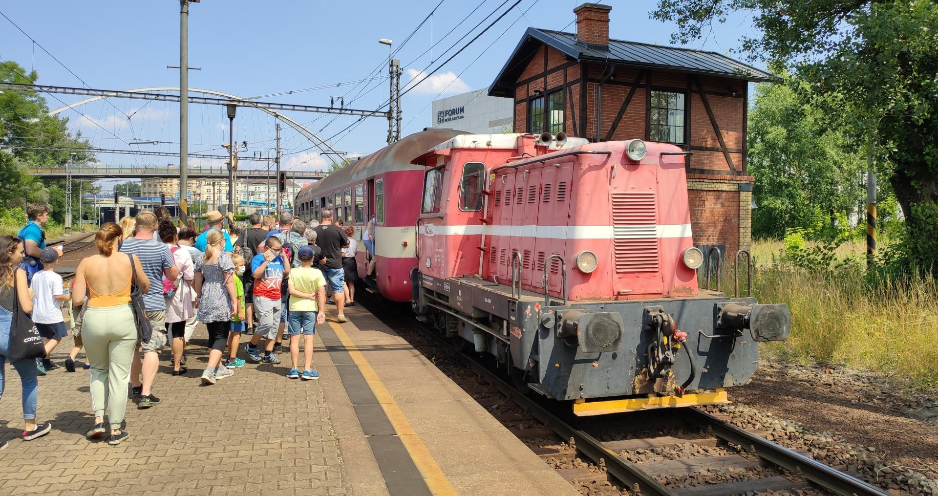 Báňské spěšné vlaky po OKR 2021