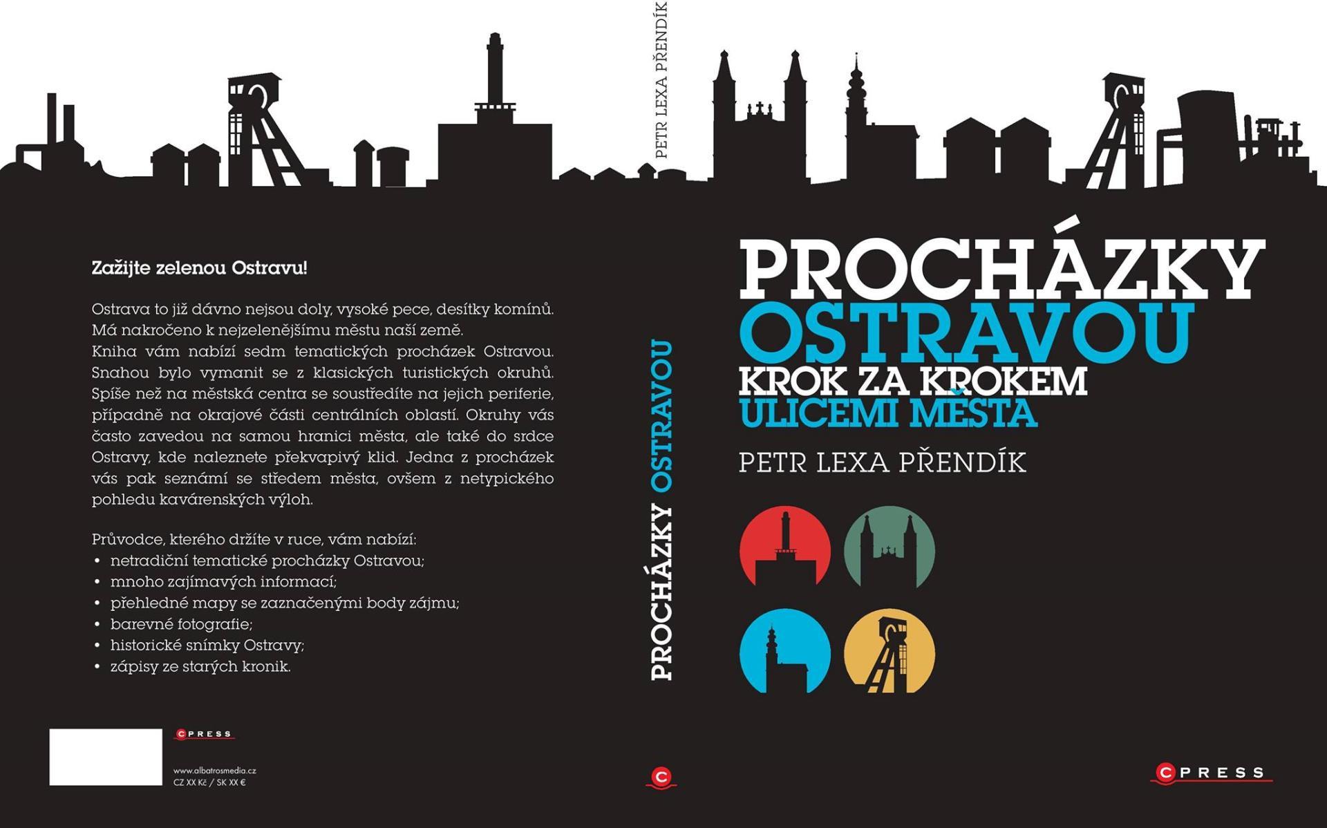 Křest publikace Procházky Ostravou: Krok za krokem ulicemi města