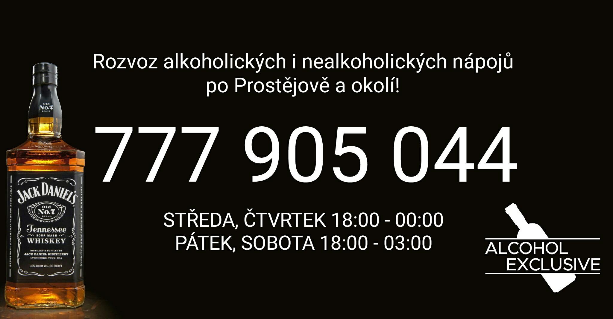 Alcohol Exclusive - Rozvoz alkoholu Prostějov