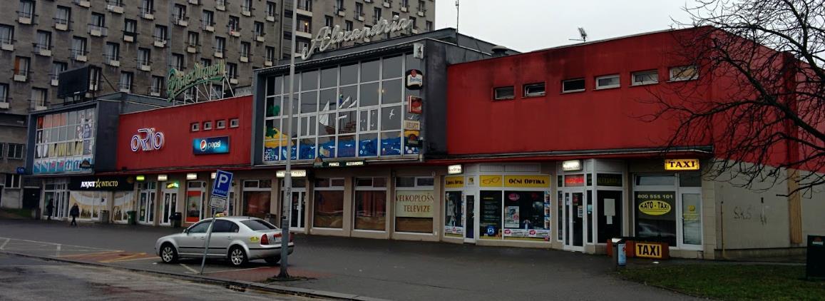 Alexandria Loď, Ostrava, Czech Republic