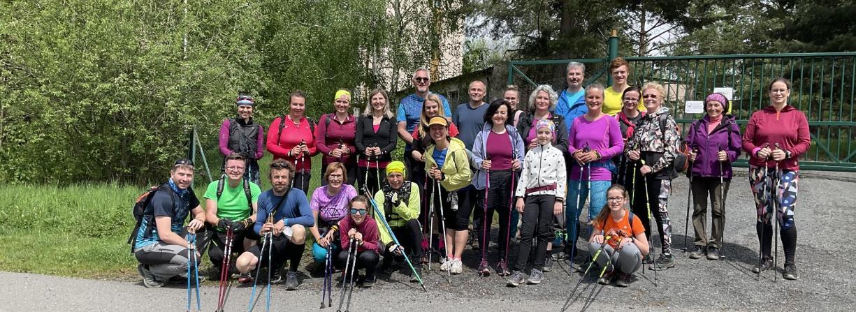 Nordic Walking  - Severská chůze výuka
