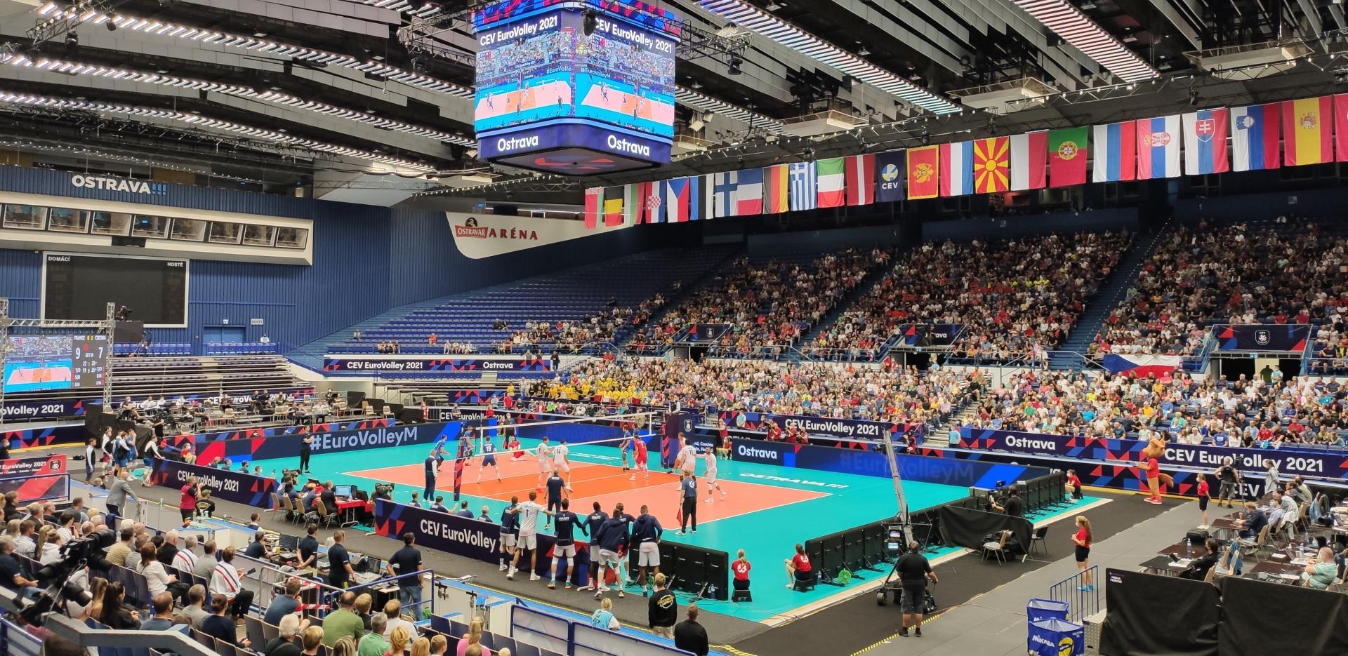 ME ve volejbalu mužů CEV EuroVolley 2021 - CZE:SLO