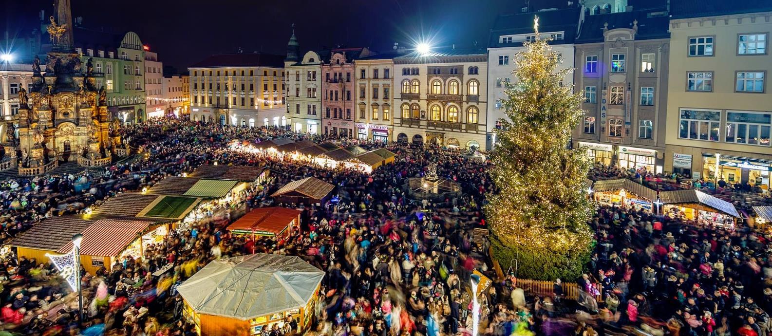 Vánoční trhy - program dne: