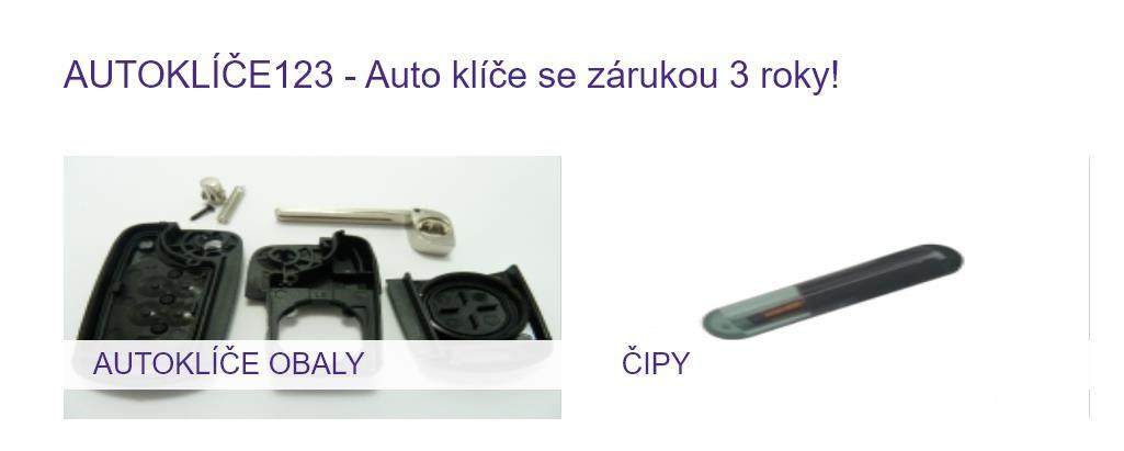 Autoklíče 123 (výroba autoklíčů)