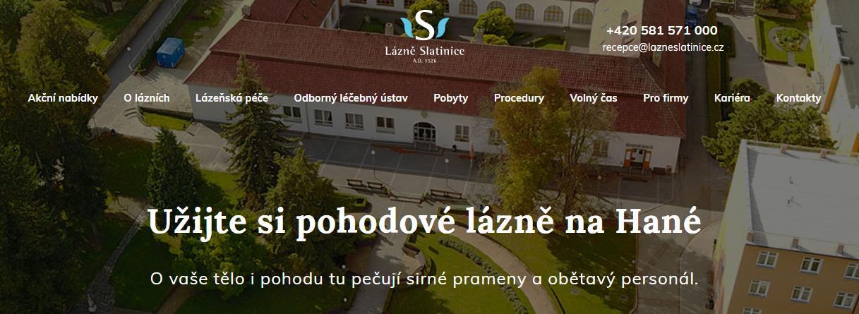 Lázně Slatinice - Zdraví a pohoda