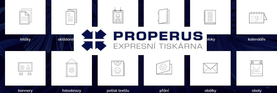 Tiskárna  Properus