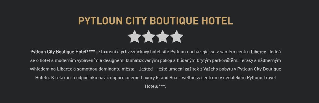 Pytloun City Boutique Hotel