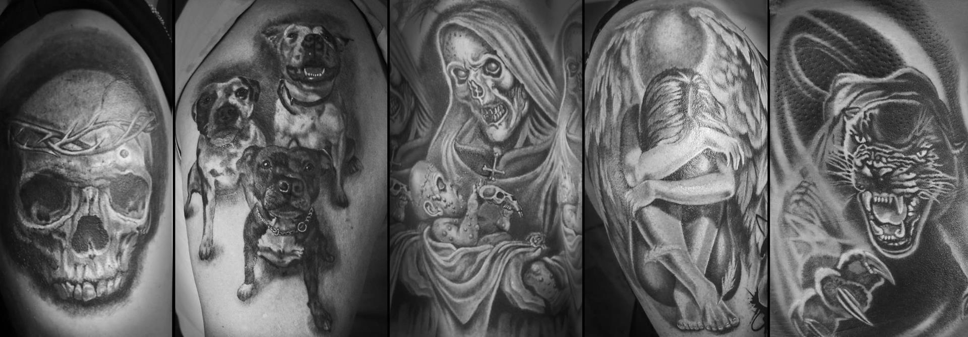 Tattoo Black Madonna